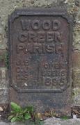 Wood Green Parish Boundary Marker