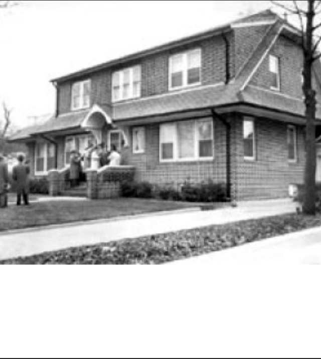 Tommy Lucchese's home -1952- 104 Parsons Blvd Queens NY
