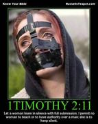 Misogyny in the Bible