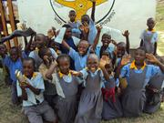 kids in lower primary pose for a foto