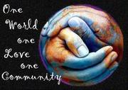 Um mundo, um amor, uma comunidade