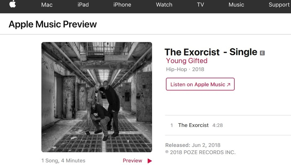 iTunes_The Exorcist By Young Gifted