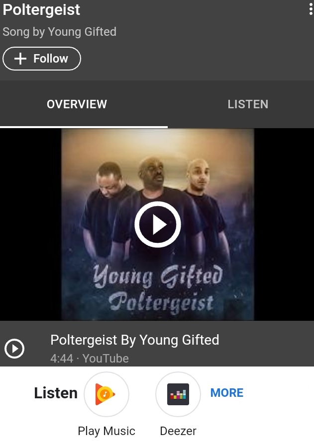 NEW JERSEY'S HIP HOP JUGGERNAUTS!! CHECK OUT THEIR LATEST HIT SINGLE POLTERGEIST BY YOUNG GIFTED  #THE  #EXIT9  #REPRESENTERS