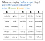 Healthcare bingo