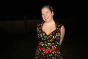 Fan-photos Heidi Black Cherry Dress, 2x