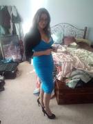 Erin Wiggle Dress in Turquoise