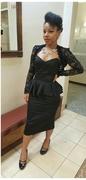 Man Trap dress and Lace bolero