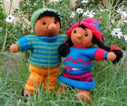 Chollito - kleine peruanische Berglandbewohner
