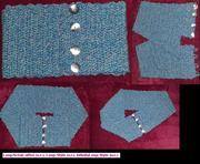 Ein Schal - Drei Möglichkeiten