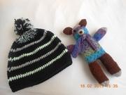 Trostbärchen und Mütze