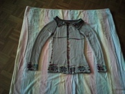 Double face Jacke gr 36 andere Seite