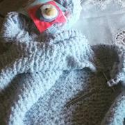 Babydecke Pinguin
