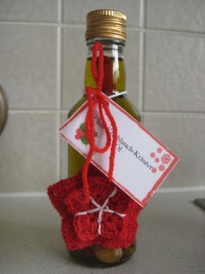 Chili-Knoblauch-Kräuter-Öl