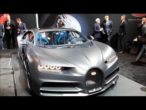 A Walk About the Bugatti Chiron Sport 110 ans Bugatti