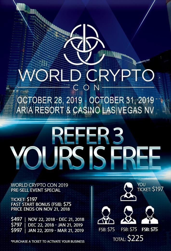 WORLD CRYPTOCON 2019
