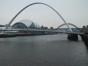 Cold morning on the Tyne