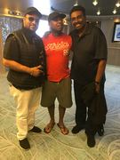 Tony jazz with band members from rolls royce