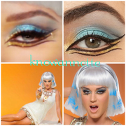 Katy Perry Dark Horse Makeup