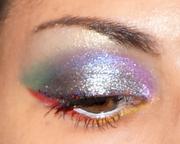 Rainbow inspired Eye look