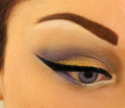 Winter Holiday Eyeshadow Look