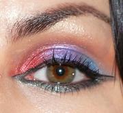 Spring Rainbow Eyeshadow Look
