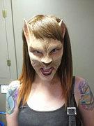 Cat Prosthetic SFX Makeup