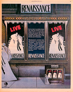 Live at Carnegie Hall print ad
