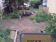 West End Coffee Shop edible landscaping