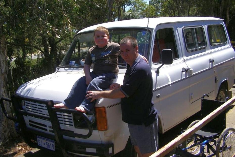 william on the old van