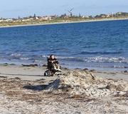 william at the beach