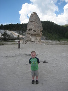 Colin at Yellowstone