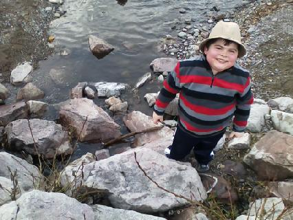 Cory at the Clark Fork River