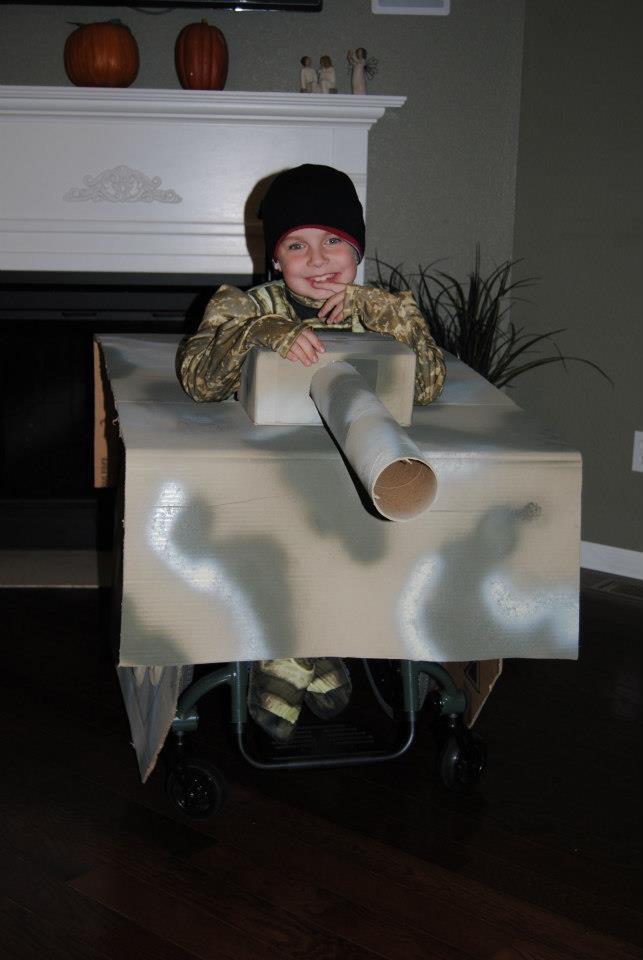 T.J. Halloween Tank!