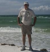 Tom on the beach