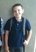 Riley's 1st day of 7th Grade