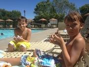 Summer with my boys