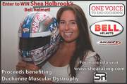 Shea Holbrook Duchenne Racing Helmet