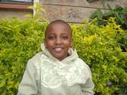 My son Kamau,