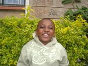 My son Kamau