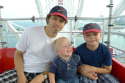 On the Ferris Wheel at Navy Pier, Chicago
