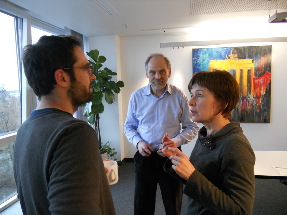 Strategy meeting among formal members in Berlin, February 24th 2012