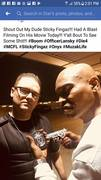 Diar Lansky filming with Sticky Fingaz