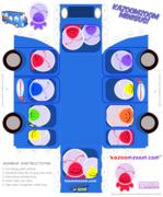 Kazoomzoom Toys to Print