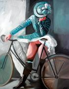 blue-nude-with-bicycle-carmen-stanescu-kutzelnig