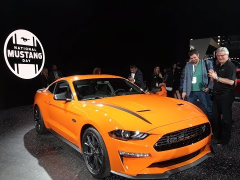 Mustang Press Conference On April 17th 2019 At the NY International Auto Show
