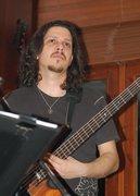 Angelos G on bass