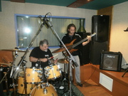 The MoonStone Combo At Studio Recording