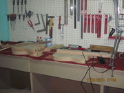 my studio build custom guitars 023
