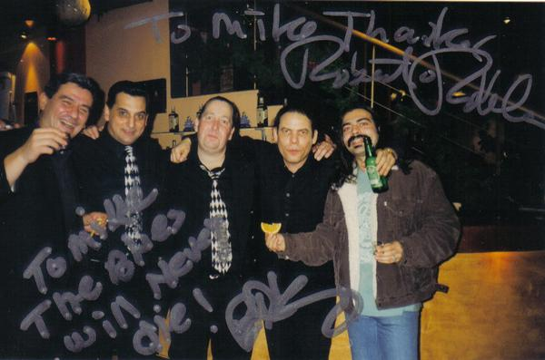 Bob Robles, King Bruce, and George Pandis