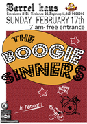 THE BOOGIE SINNERS AT ''BARREL HAUS''